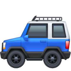 Recreational Vehicle facebook emoji