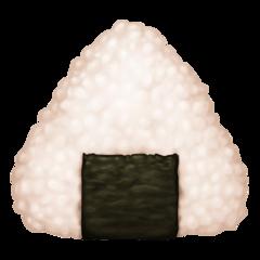 Rice Ball facebook emoji