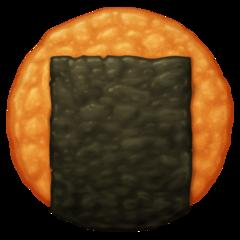 Rice Cracker facebook emoji