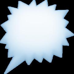 Right Anger Bubble facebook emoji