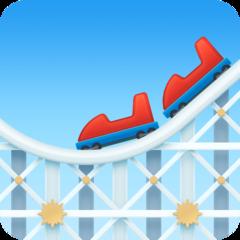 Roller Coaster facebook emoji
