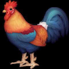 Rooster facebook emoji