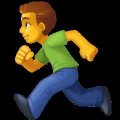 Runner facebook emoji