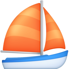 Sailboat facebook emoji