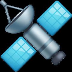Satellite facebook emoji