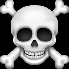 Skull And Crossbones facebook emoji