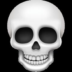 Skull facebook emoji