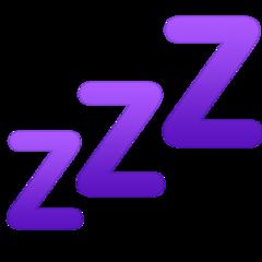 Sleeping Symbol facebook emoji