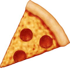 Slice Of Pizza facebook emoji