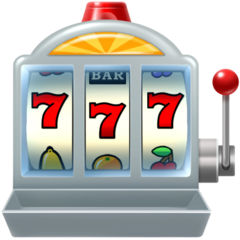 Slot Machine facebook emoji