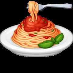 Spaghetti facebook emoji