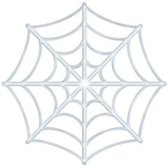 Spider Web facebook emoji