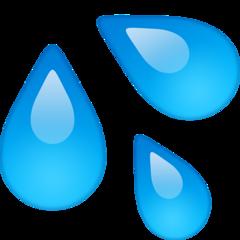 Splashing Sweat Symbol facebook emoji