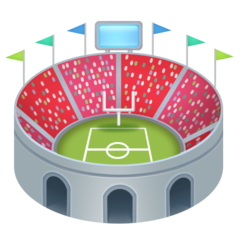Stadium facebook emoji