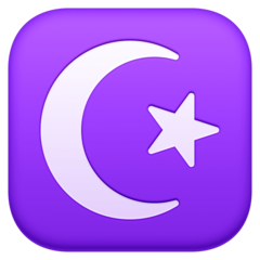 Star And Crescent facebook emoji