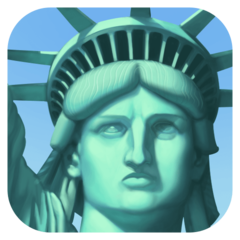 Statue Of Liberty facebook emoji