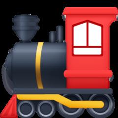 Steam Locomotive facebook emoji