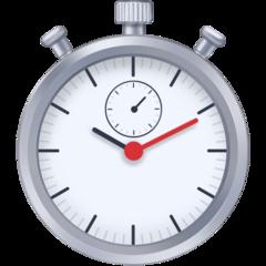 Stopwatch facebook emoji