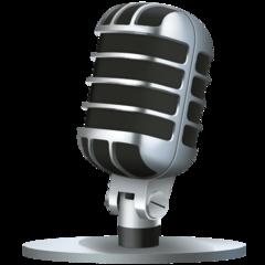 Studio Microphone facebook emoji