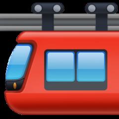 Suspension Railway facebook emoji