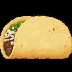 Taco facebook emoji