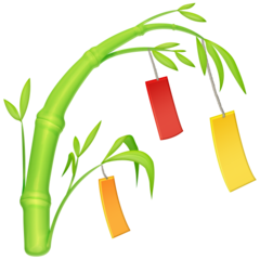 Tanabata Tree facebook emoji