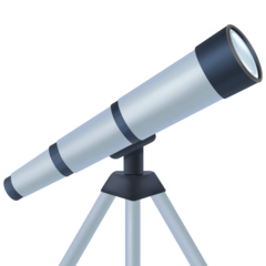 Telescope facebook emoji