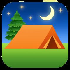 Tent facebook emoji