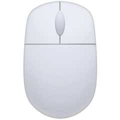 Three Button Mouse facebook emoji