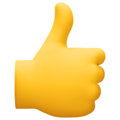 Thumbs Up Sign facebook emoji
