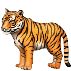 Tiger facebook emoji