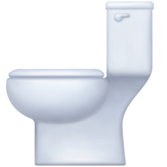 Toilet facebook emoji