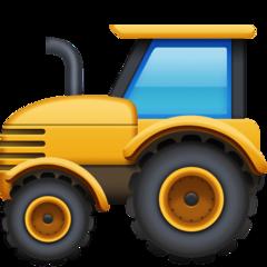 Tractor facebook emoji