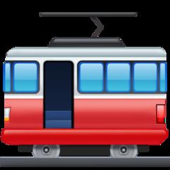 Tram Car facebook emoji