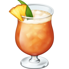 Tropical Drink facebook emoji