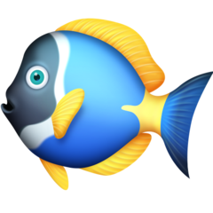 Tropical Fish facebook emoji
