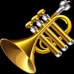 Trumpet facebook emoji