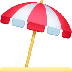 Umbrella On Ground facebook emoji