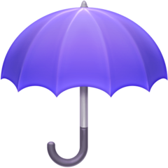 Umbrella facebook emoji