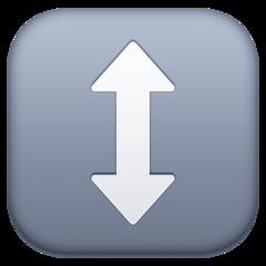 Up Down Arrow facebook emoji