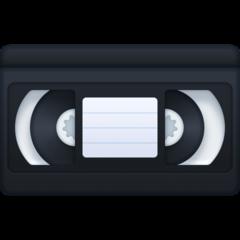 Videocassette facebook emoji