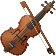 Violin facebook emoji