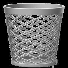 Wastebasket facebook emoji