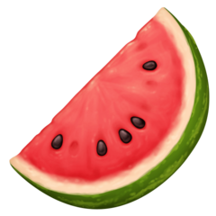 Watermelon facebook emoji