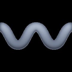 Wavy Dash facebook emoji