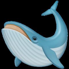 Whale facebook emoji