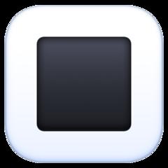 White Square Button facebook emoji