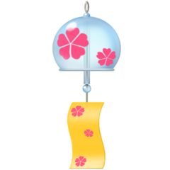 Wind Chime facebook emoji