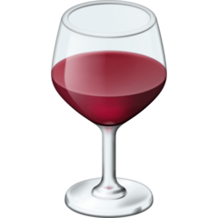 Wine Glass facebook emoji