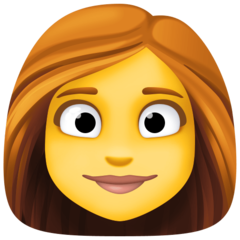 Woman facebook emoji